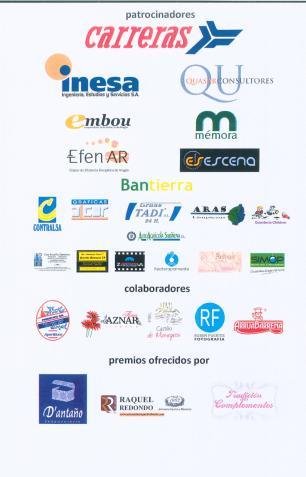 cartel patrocinadores